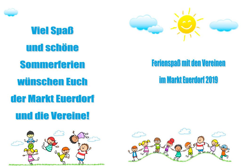 Ferienprogramm 2019-Euerdorf