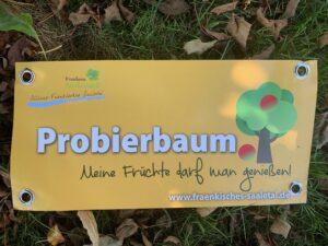 Probierbaum Banderole